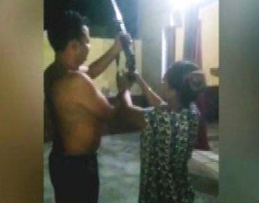पानीपत : SPO ने महिला से हवा में करवाई फायरिंग, Video हुआ वायरल