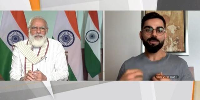 फिट इंडिया मूवमेंट: विराट कोहली ने पीएम मोदी को बताए खुद को फिट रखने के ये सीक्रेट...