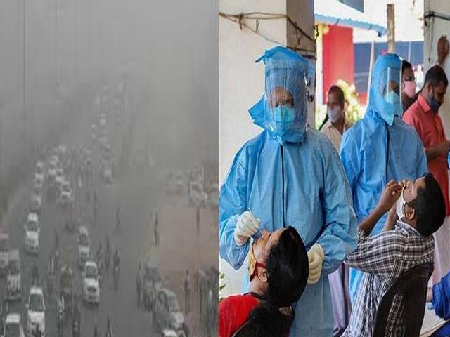 दिल्लीवासियों पर प्रदूषण और कोरोना की दोहरी मार, जानिए क्या है लोगों का हाल !