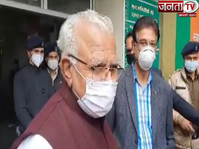 CM मनोहर लाल की शिमला में तबीयत बिगड़ी, स्वास्थ्य जांच के बाद अस्पताल से मिली छुट्टी