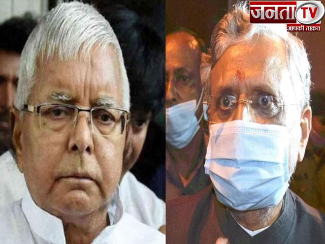 सुशील मोदी का दावा-लालू ने जेल से BJP MLA को दिया मंत्री पद का लालच, ट्वीट कर ऑडियो किया जारी