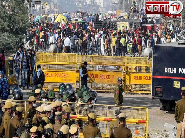 किसानों का हल्लाबोल जारी, अब भी बंद है ये बॉर्डर, दिल्ली ट्रैफिक पुलिस ने जारी किया यातायात अलर्ट
