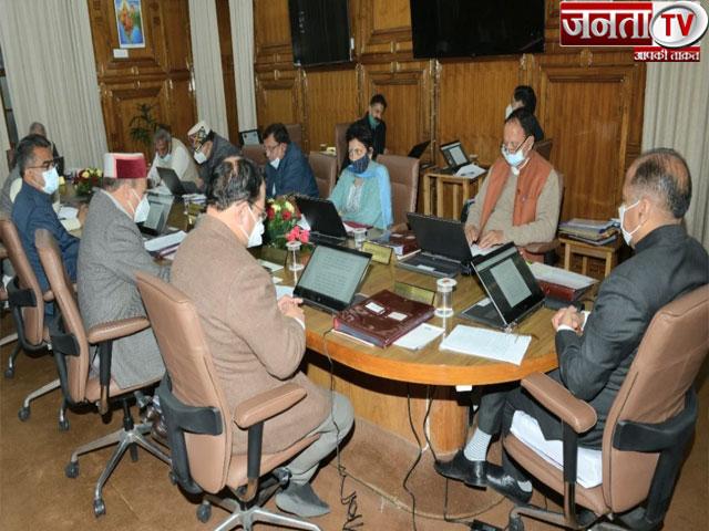 हिमाचल मंत्रिमंडल ने पार्टी सिंबल पर नगर निगम चुनाव कराने को दी मंजूरी