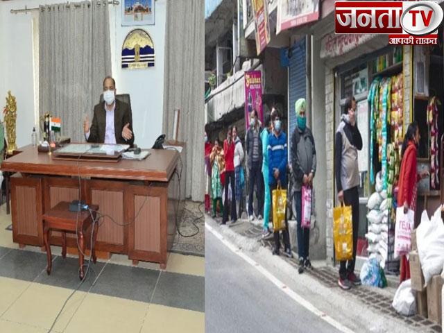 हिमाचल में कोरोना कर्फ्यू:प्रदेश में10 मई से नए प्रतिबंध,अब दिन में सिर्फ 3 घंटे ही खुलेंगी दुकानें