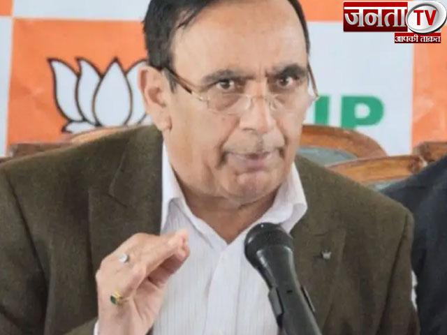 नहीं रहे भाजपा के वरिष्ठ विधायक नरेंद्र बरागटा, 69 की उम्र में PGI में ली अंतिम सांस