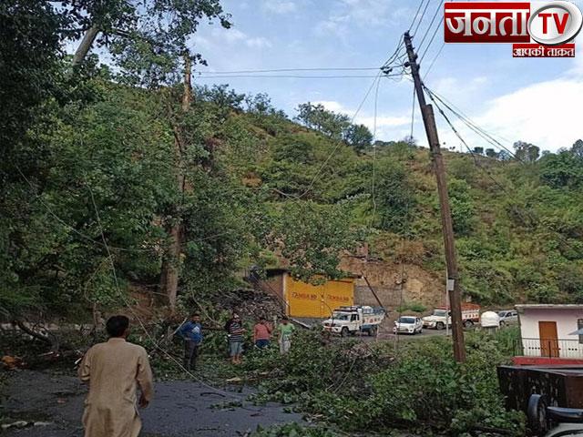 हिमाचल:आंधी-तूफान से फसलों और फलों को भारी नुकसान,इन 7 जिलों में भारी बारिश को लेकर ऑरेंज अलर्ट जारी
