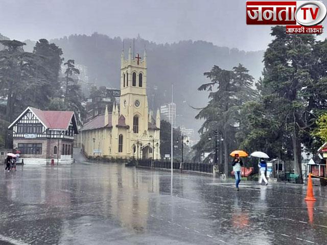 हिमाचल प्रदेश में 21 साल बाद समय से पहले पहुंचा मानसून : मौसम कार्यालय
