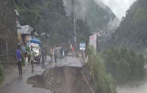 भारी बारिश के बाद कांगड़ा में लैंडस्लाइड, 4 लोगों की मौत, 12 लापता
