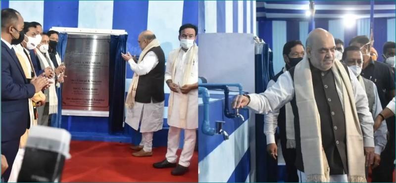 अमित शाह ने शिलांग में असम राइफल्स के ग्रीन सोहरा वृक्षारोपण अभियान का शुभारंभ कर कही यह बात, जानें