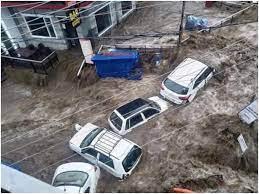 हिमाचल प्रदेश: मणिकर्ण में भारी बारिश से ब्रह्म गंगा में आई बाढ़, मां-बेटे लापता, अफरा-तफरी का माहौल