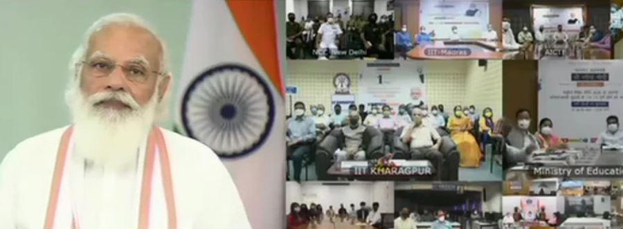 PM मोदी बोले- राष्ट्रीय शिक्षा नीति को हर तरह के दबाव से मुक्त रखा गया