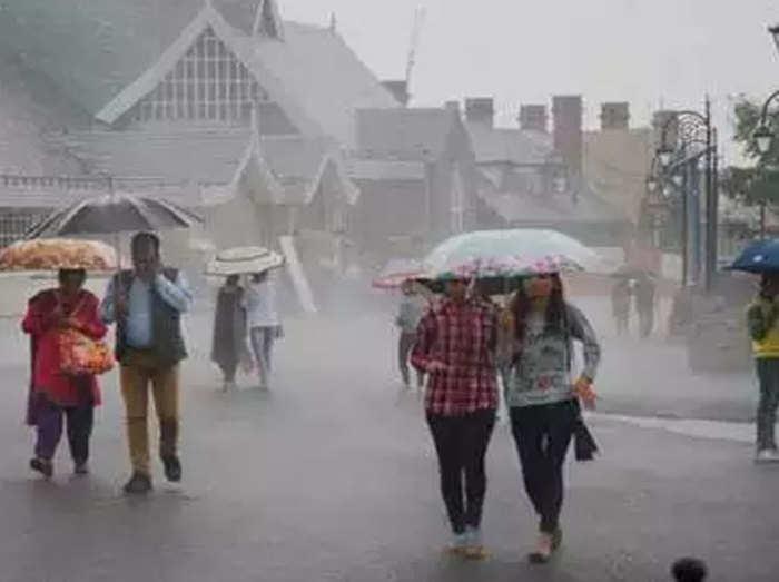 हिमाचल में आज से फिर होगी झमाझम बारिश, मौसम विभाग ने जारी किया अलर्ट