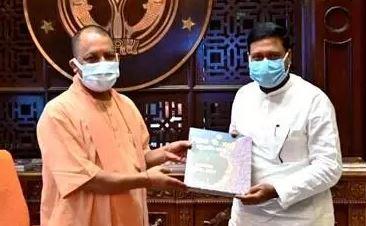 CM योगी से मिले संतोष मांझी, 'हम' यूपी के चुनावी मैदान में उतरने की कर रही तैयारी?