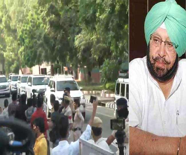 Captain Amrinder Singh Resignation: कैप्टन अमरिंदर सिंह ने सीएम पद से दिया इस्तीफा