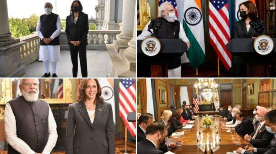 PM मोदी ने अमेरिका की उपराष्ट्रपति कमला हैरिस सहित इनसे की मुलाकात, इन मुद्दों पर हुई बात