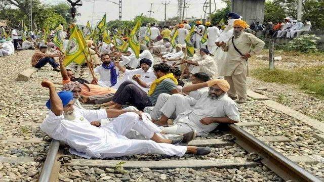 Rail Roko Andolan: किसानों का 'रेल रोको आंदोलन'  शुरू, लखनऊ में धारा 144 लागू