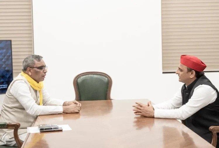 UP Election 2022: सपा और सुभासपा आए साथ, यूपी में भाजपा साफ !