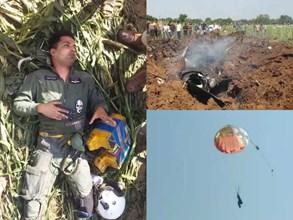 Fighter Aircraft Miraj Plane Crash :भिंड में एयरफोर्स का लड़ाकू विमान क्रैश, पायलट ने कूदकर बचाई जान