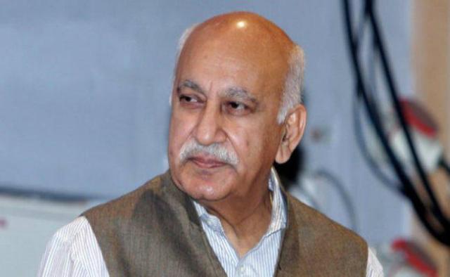 भाजपा से राज्यसभा सांसद एमजे अकबर भी #MeeToo के आरोपों से घिरे हैं