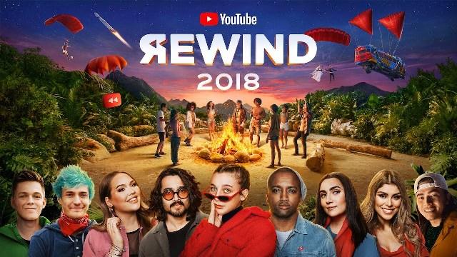 ''YouTube Rewind 2018''  video पर 176 Million Views है और 16 मिलियन Dislike है।