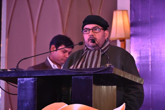 JEMA AWARDS 2019 में Consulting Editor Shashi Ranjan ने आडिंयस को संबोधित किया