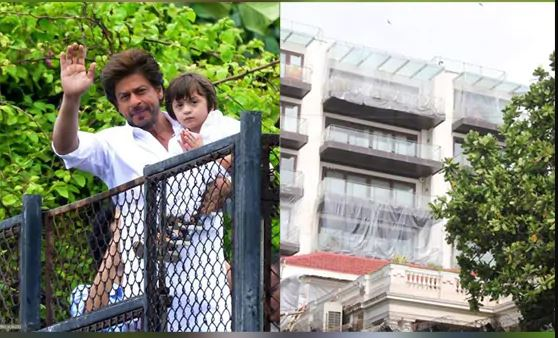 जानें Shahrukh Khan ने मन्नत को क्यों किया प्लास्टिक से कवर ?