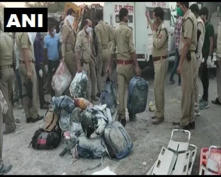Auraiya में सड़क हादसा, 24 मजदूरों की मौत और 20 से ज्यादा घायल