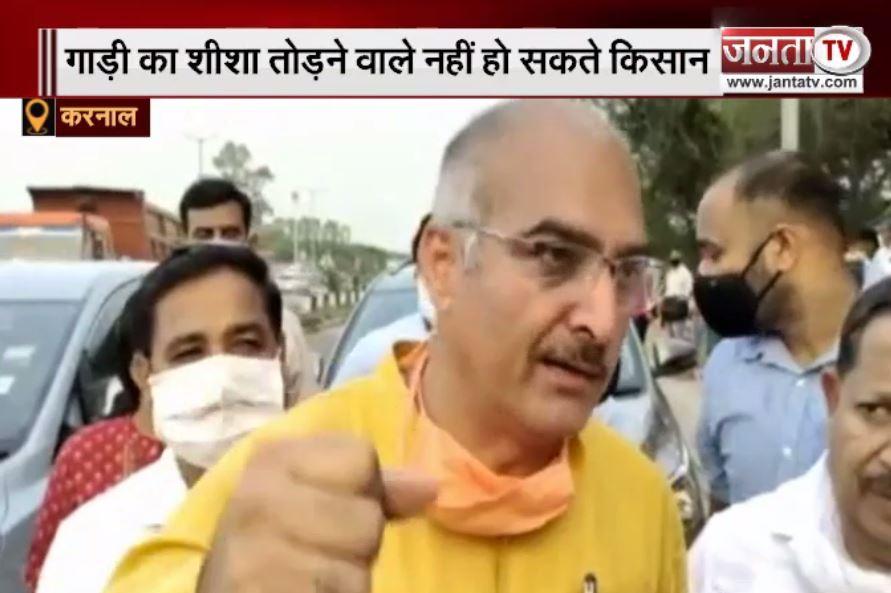 देवेंद्र बबली मामले पर बोले BJP सांसद संजय भाटिया- गाड़ी का शीशा तोड़ने वाले नहीं हो सकते किसान